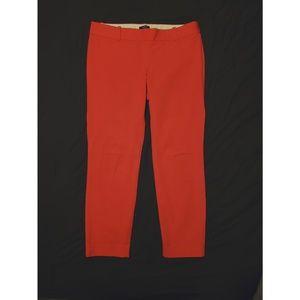 J Crew City Fit - cropped pants